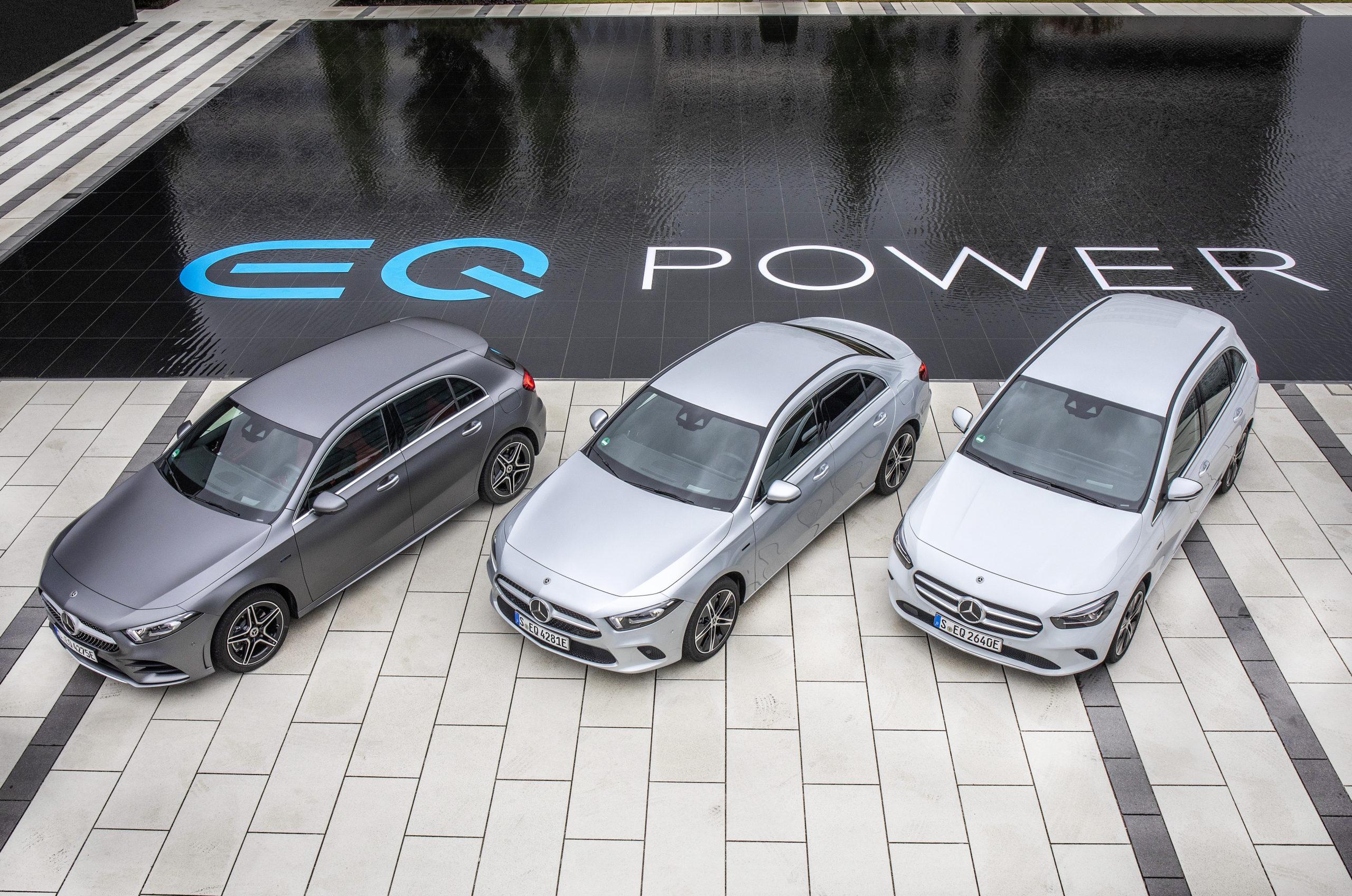 Mercedes-Benz Plug-in-Hybride - die neue EQ Power Familie Frankfurt 2019Mercedes-Benz plug-in hybrids - The New EQ Power Family Frankfurt, September 2019